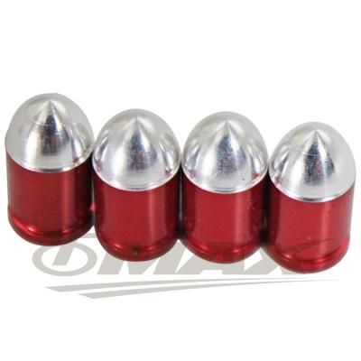 omax台製鋁合金(法式)氣嘴蓋-8入(顏色隨機)