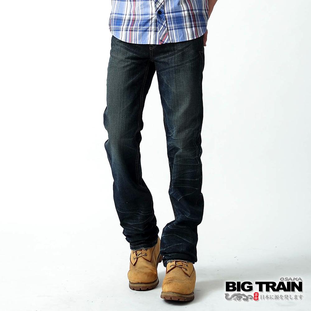 BIG TRAIN BLUE BENSON小直筒-男-深藍