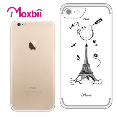 Moxbii iPhone 7 4.7吋 simpOcase光雕殼-巴黎異想