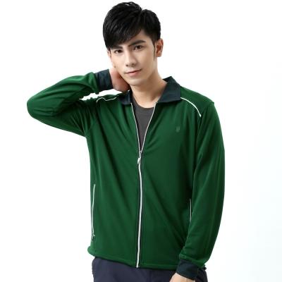 【遊遍天下】MIT台灣製抗UV防風吸濕排汗機能外套(綠色)
