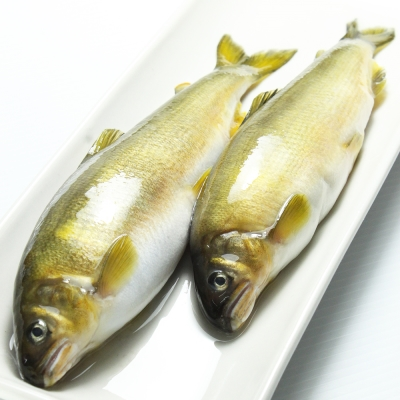 【那魯灣】宜蘭純淨帶卵母香魚 1盒(6尾/1公斤/盒)