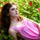 【羅絲美】浪漫氛圍甜美蕾絲洋裝睡衣 (粉紅)