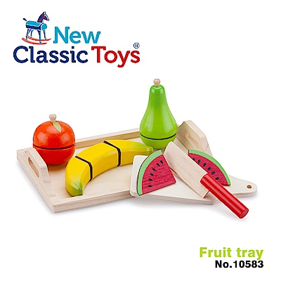 荷蘭New Classic Toys 水果托盤切切樂 - 10583