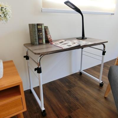 Amos-上下延展平面桌-深漂流木色W90xD45xH69-85cm