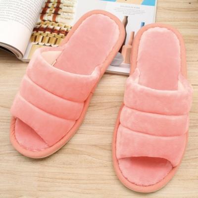 333家居鞋館 超柔軟家居拖鞋 粉色