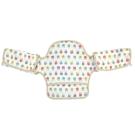 日本 LUCKY  (揹巾專用)展翅飛翔360度環繞式口水墊(米黃兔子)