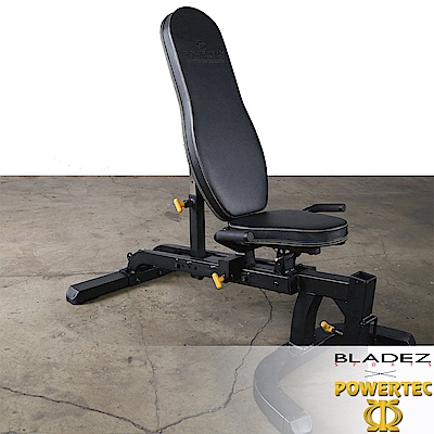 【BLADEZ】POWERTEC-WB-UB16-重量訓練床(全黑)