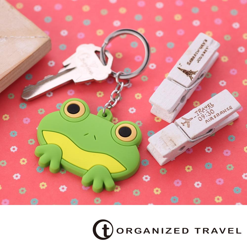 Organized Travel-動物鑰匙圈-青蛙