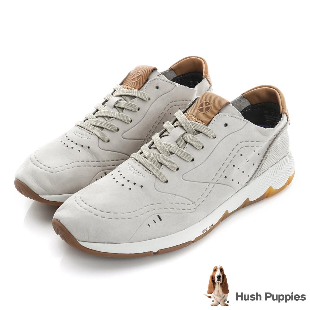 Hush Puppies GARRY 復古運動健走鞋-褐色