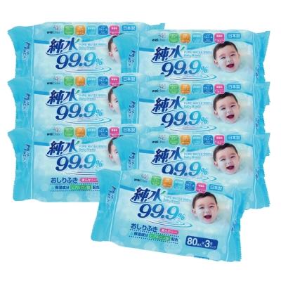 Weicker-純水99.9%日本製濕紙巾-80抽x21包/組