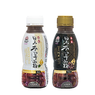 生活 新優植黑木耳露-黑糖/銀杏(350mlx48瓶)