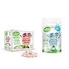 【紐西蘭 Kiwigarden】益菌優格豆 草莓+原味 2盒組(草莓1盒+原味1袋)