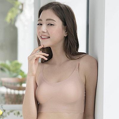華歌爾- gococi  M-LL 無鋼圈內衣(膚)
