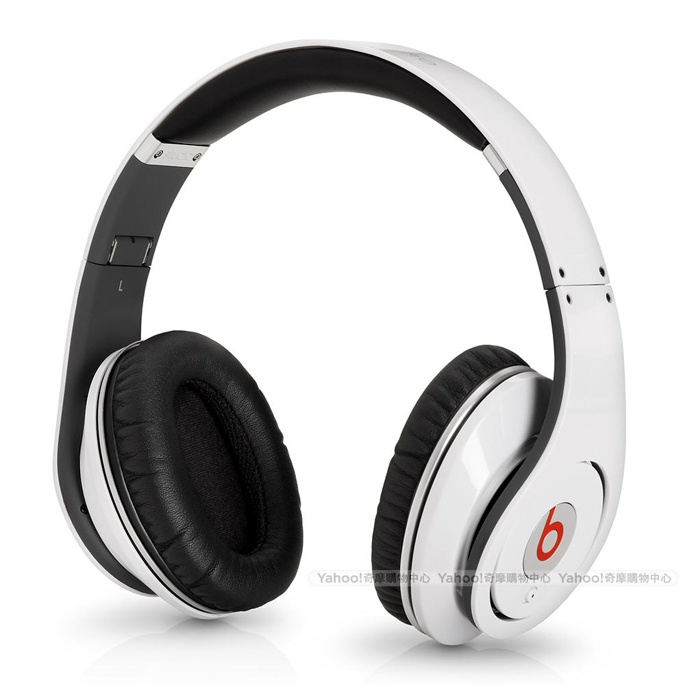 BEATS耳機 Studio 白色 耳罩耳機 beats by dr.dre台灣代理公司貨
