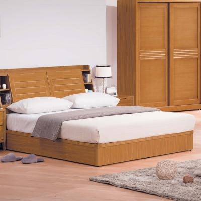 H-D-米提系列柚木色5尺床底