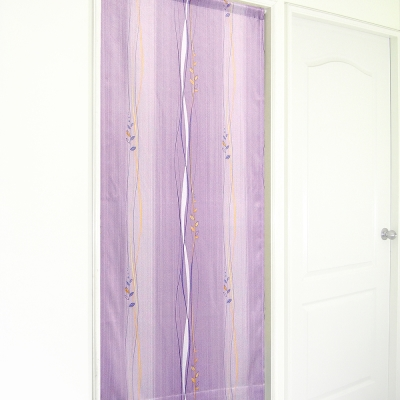 布安於室-斯拉密遮光風水簾-紫色