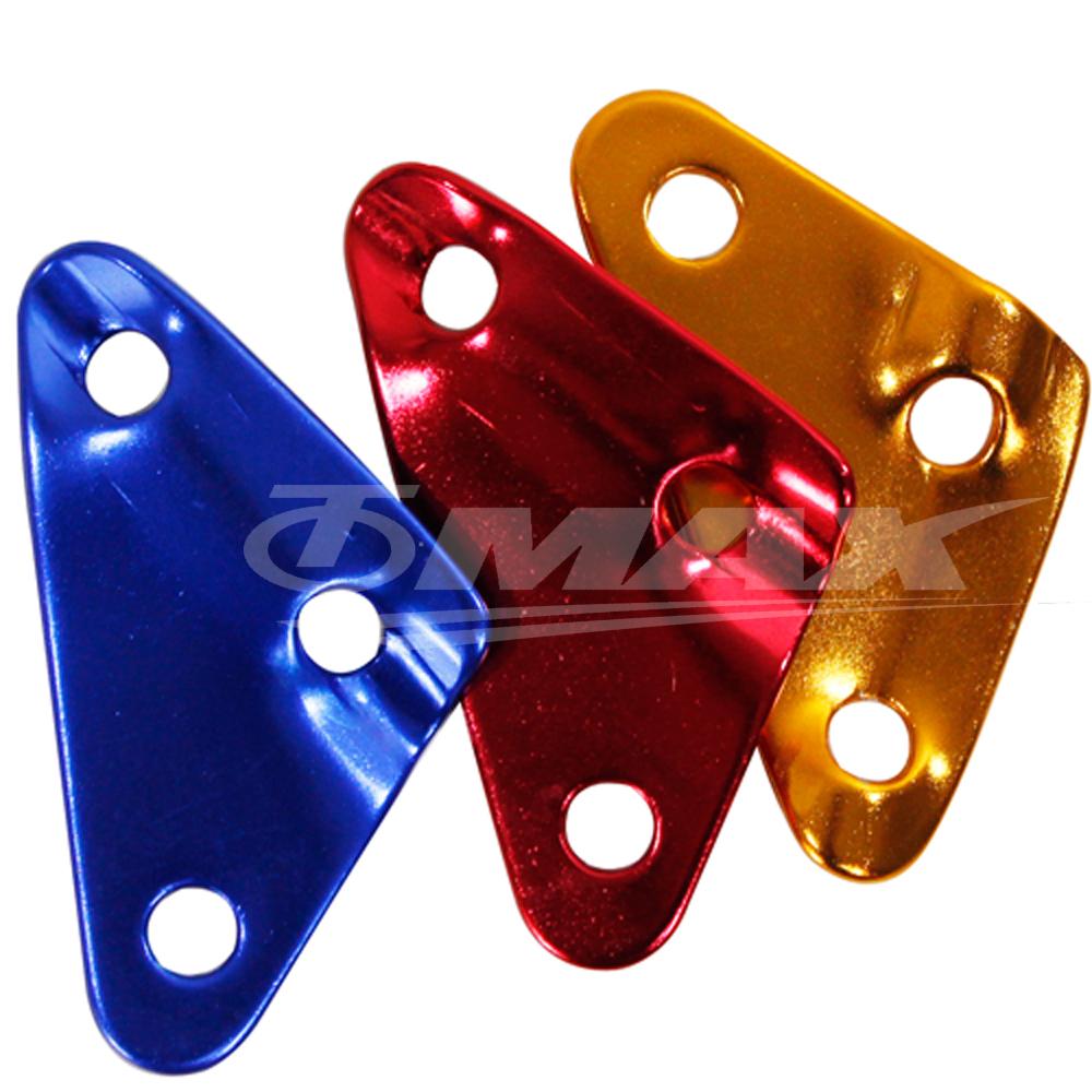 omax鋁合金-三角營繩調節片-8入(顏色隨機出貨)-快