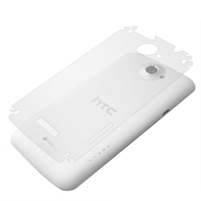 HTC ONE X S720e 超透超顯影機身背膜(貼) -贈鏡頭膜