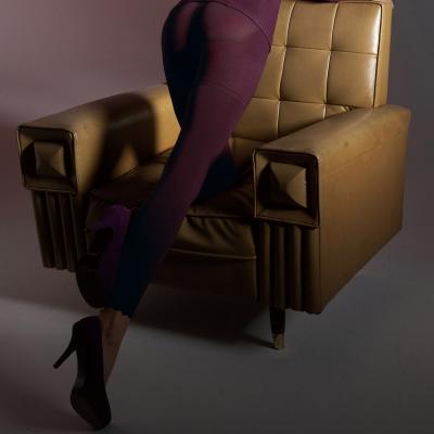 【曼黛瑪璉】美體輕塑衣  長管輕塑內搭褲(帥氣紫)