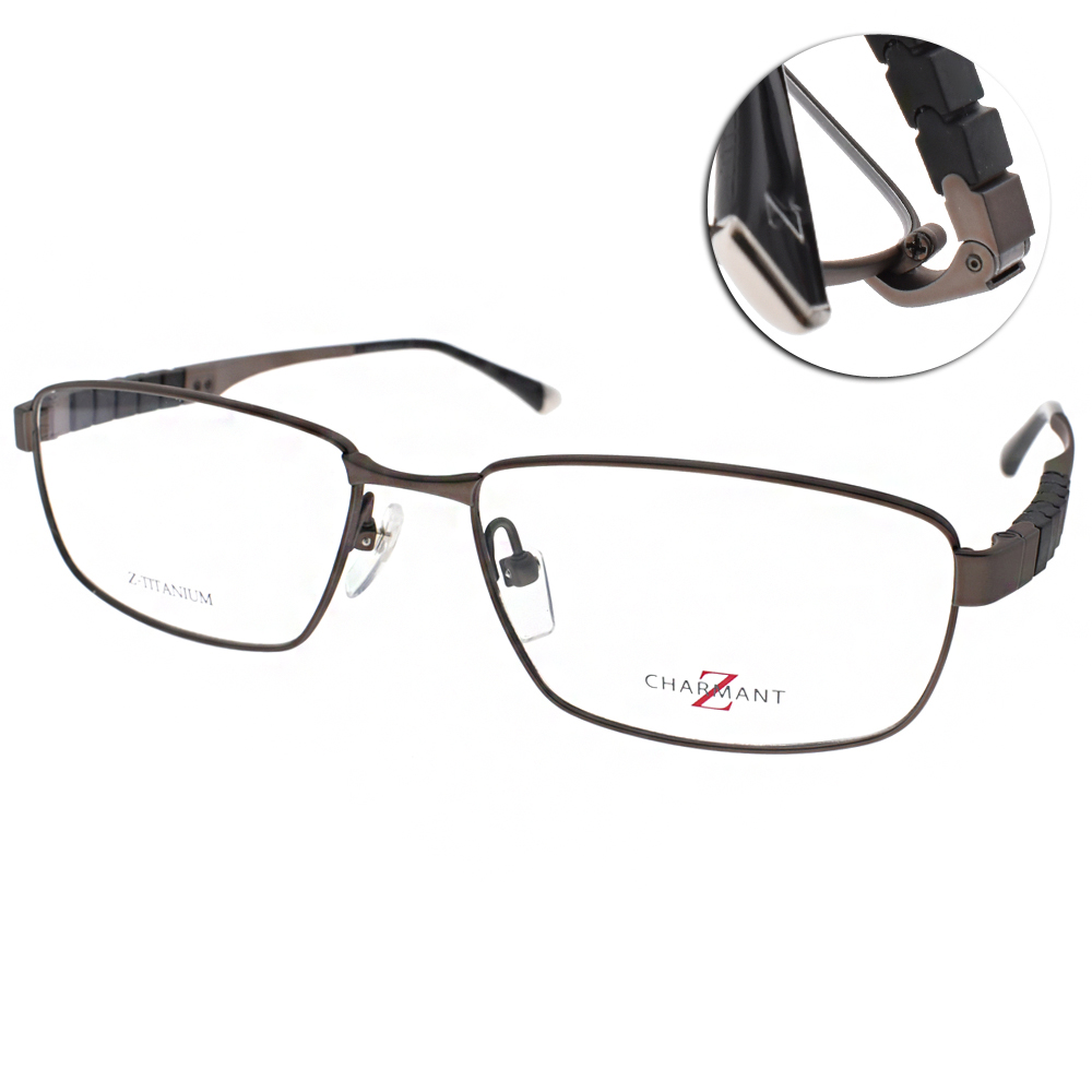 CHARMANT-Z眼鏡 尖端時尚/霧棕#CZT19811 BR @ Y!購物
