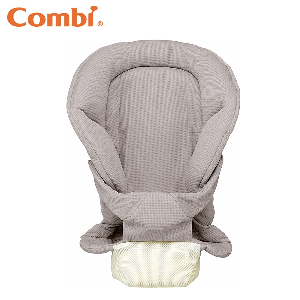 【Combi 康貝】 新生兒全包覆式內墊(鬆餅灰)