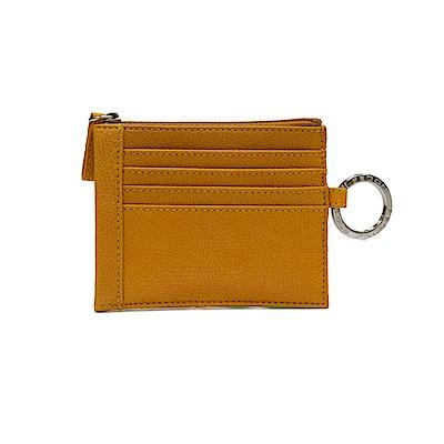 FEDON 1919 Charme 實用皮夾鑰匙圈4卡 蜂蜜