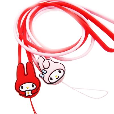 三麗鷗授權-My-Melody美樂蒂立體造型長掛繩