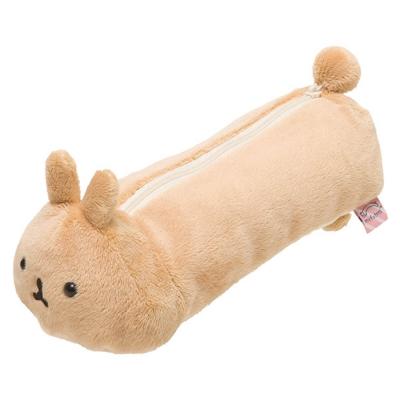 麻糬兔兔子朋友系列毛絨筆袋包。薯片