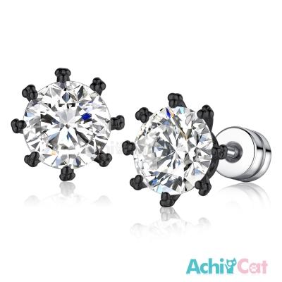 AchiCat 耳環耳針式 精靈花冠