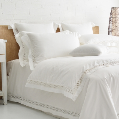 Cozy inn 北角-300織精梳棉四件式被套床包組(加大)