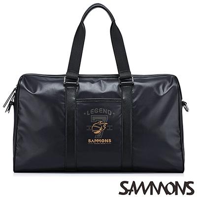 SAMMONS 艾力克尼龍休閒旅行包 百搭黑