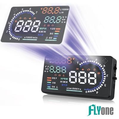 FLYone RM~H5 HUD OBD2 抬頭顯示器~急速配