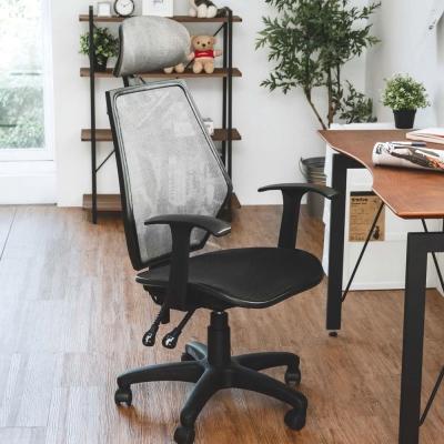 完美主義 水波紋全網布頭靠電腦椅/辦公椅/主管椅(6色)