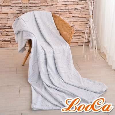 LooCa 銀離子抗菌3-6cm薄床墊布套-雙人拉鍊式