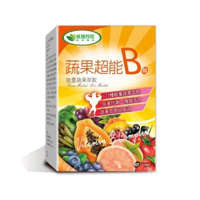 威瑪舒培 蔬果超能B群錠 (60錠/盒)