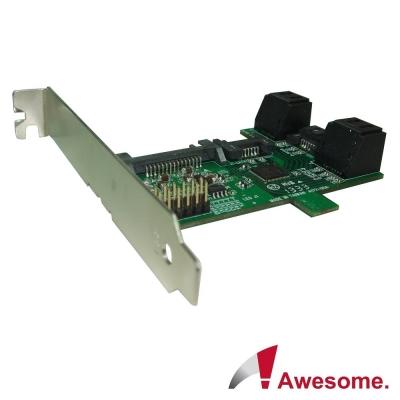 Awesome PCI/PCIe槽SATA 1轉5擴充卡-AWD-ST-172A