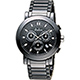 Diadem 黛亞登 巴黎時尚計時陶瓷腕錶-黑/41mm product thumbnail 1