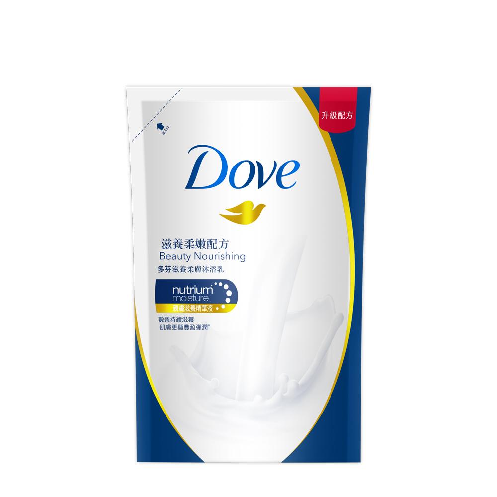 DOVE 多芬 滋養柔膚沐浴乳 - 滋養柔嫩配方補充包 650g