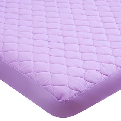 義大利La Belle 繽紛炫彩 雙人包覆式保潔墊-紫