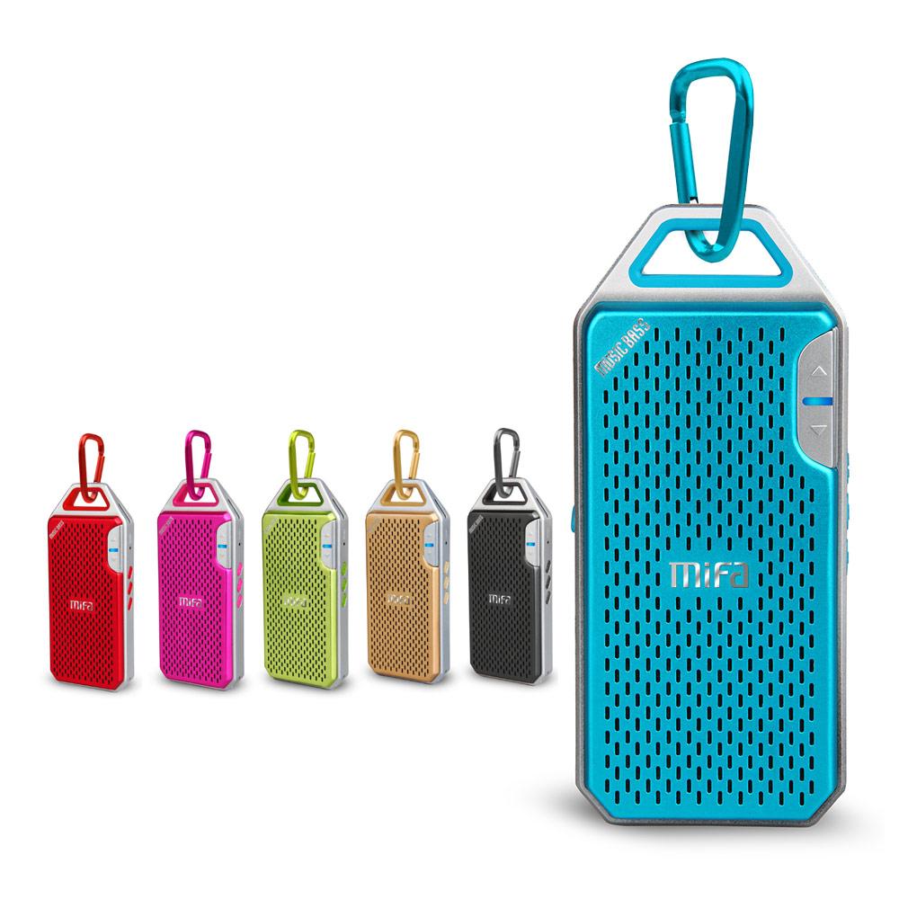 MiFa F4 隨身輕巧鋁合金無線藍牙MP3喇叭