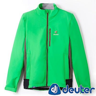 【ATUNAS 歐都納】德國DEUTER男款刷毛保暖外套DE-G1405M綠