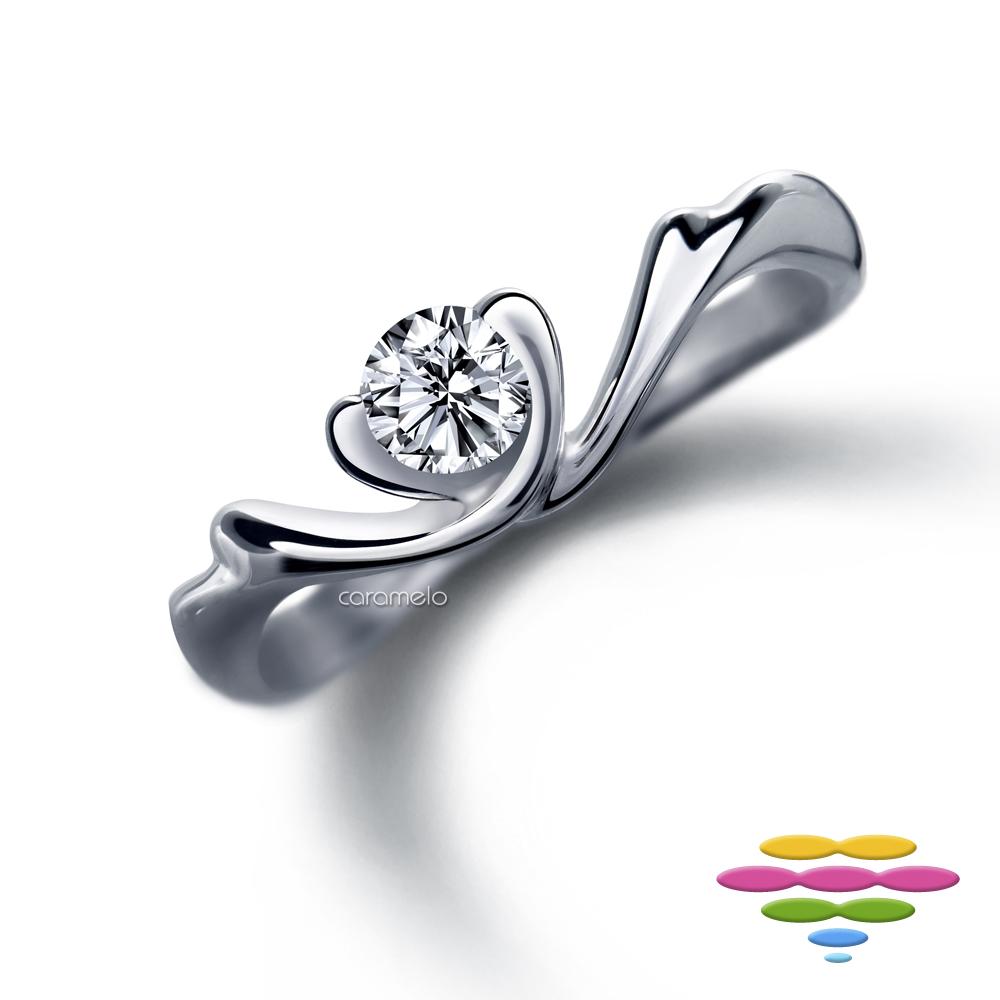 彩糖鑽工坊 19分鑽石戒指 愛情羽翼鑽戒 愛.翼.想系列