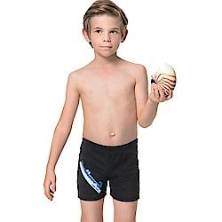 聖手牌 兒童泳裝 卡通虎鯨印染男童泳褲