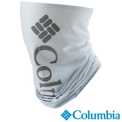 【Columbia哥倫比亞】男女-涼感快排防曬50頭巾-白  UCU95040WT