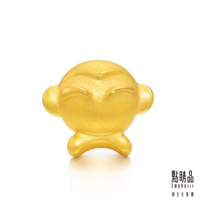點睛品 Charme 十二生肖-猴 黃金串珠