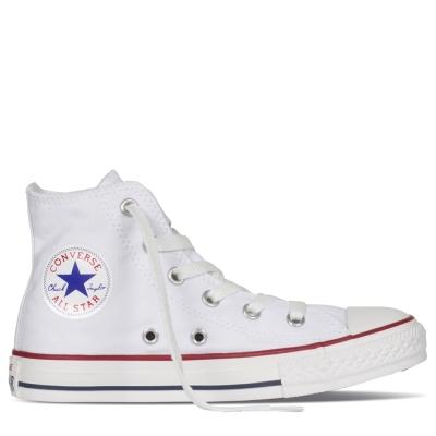 CONVERSE-All Star中童鞋-白