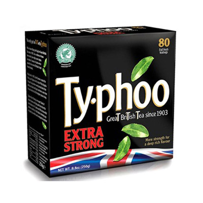 Typhoo 特濃紅茶(80入/盒)
