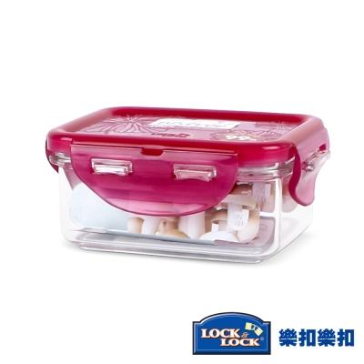 樂扣樂扣 Bisfree系列晶透抗菌保鮮盒~長方形180ML