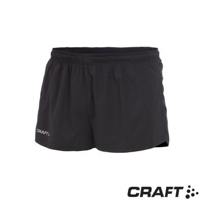 【瑞典 Craft】男新款 越野快乾跑步短褲_黑