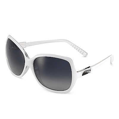 Lip Sunglasses-ROSE偏光太陽眼鏡純淨白